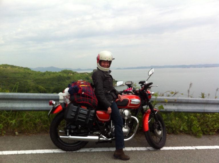 Sur l'île de Teshima.