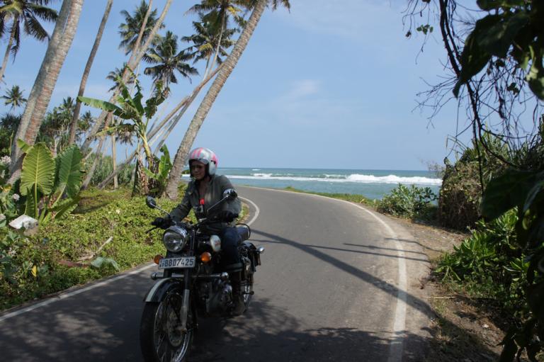En longeant l'océan indien